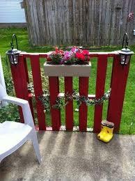 Pallet Backyard Fence Plans Image 4647000 On Favim Com