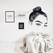 Beauty Girl Face Salon Wall Window Lashes Wall Decal Eyelashes Sticker Girls Eyes Eyebrows Decal Beauty Salon Make Up Decal Wall Decal For Bedroom Wall Decal Mural From Onlinegame 11 67 Dhgate Com