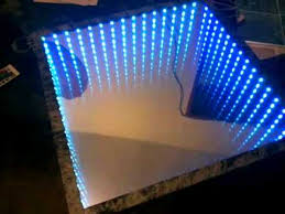 17 infinity mirror table how to