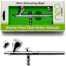 iwata gravity feed dual action airbrush