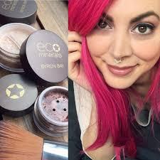 eco minerals vegan makeup review swatches