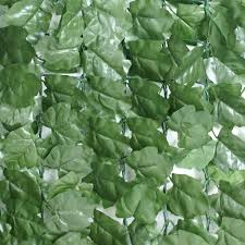 Segawe Artificial 39 X 94 Faux Ivy Leaf Decorative Privacy Fence Screen Hedge Fencing