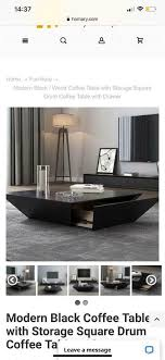 square coffee table with storage in