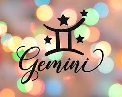 Gemini Decal Etsy