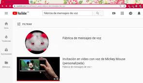 Invitacion En Video Animado C Doblaje Voz De Mickey Mouse