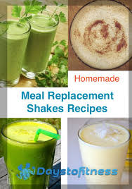 meal replacement shakes recipes