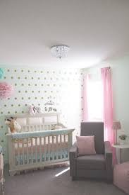 mint and pink nursery for georgia