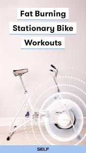 stationary bike workouts that burn fat