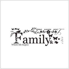 com udwutta hwnoa hbdm wall stickers family is everything
