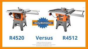 The Differences Between The New Ridgid R4520 Versus The Older R4512 Dusty Workbench