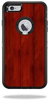 Amazon Com Mightyskins Skin Compatible With Otterbox Defender Iphone 6 Plus 6s Plus Case Cover Sticker Skins Cherry Wood