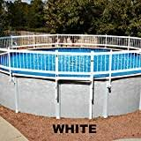 Amazon Com Gli Above Ground Pool Fence Base Kit 8 Section Swimming Pool Safety Products Garden Outdoor