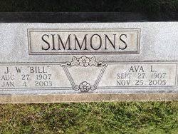 Ava Lillian Stone Simmons (1907-2005) - Find A Grave Memorial