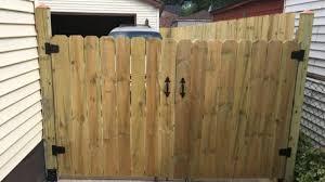 Building A Custom Privacy Fence Gate