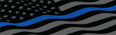 Vehicle Graphics New Designs Thin Blue Line Usa American Flag Police Sheriff Law Enforcement Back The Badge United We Stand In God We Trust Leo