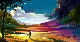 wallpaper landscape colorful