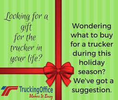 what to a trucker for