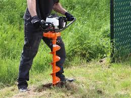 Earth Auger 1 Person Petrol To 150 Mm Depth Boels Rental Ltd