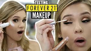 full face testing forever 21 makeup