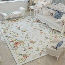 nordic flower carpets for living room
