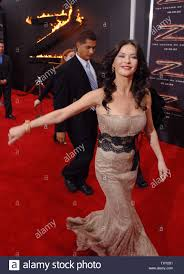 Actress Catherine Zeta-Jones, a cast member in the new motion ...