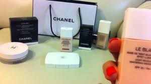 chanel le blanc whitening makeup