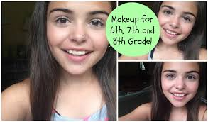 picture day makeup for middle