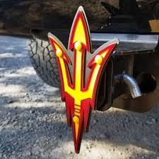 Arizona State University Car Accessories Hitch Covers Arizona State Sun Devils Auto Decals Pac 12 Official Online Store