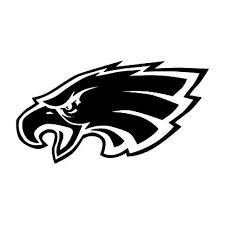 Philadelphia Eagles Team Logo Car Decal Sticker 8x8inch Black Or White 3 00 Philadelphia Eagles Logo Eagles Vinyl Decals