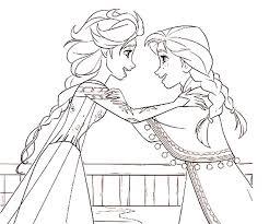 Kleurplaat Frozen 2 Elsa En Anna 11