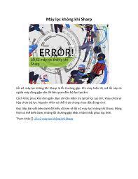 Lỗi e2 máy lọc không khí Sharp by Hiyams - issuu