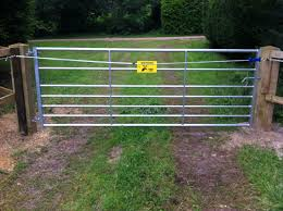 Electric Fencing Gates