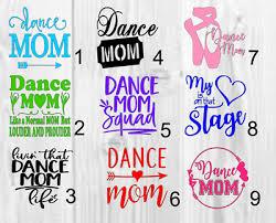 Dance Mom Vinyl Decal Approx 3inchx3inch Home Garden Decor Decals Stickers Vinyl Art Ayianapatriathlon Com