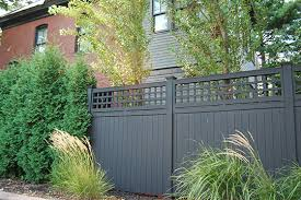 Fitzgerald Fence Inc Privacy Fencing Lattice Top Cedar Privacy