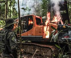 Operação desativa garimpo ilegal na Terra Indígena Munduruku, no ...