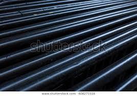 Black Aluminum Fence Panels Stock Photo Edit Now 608271518