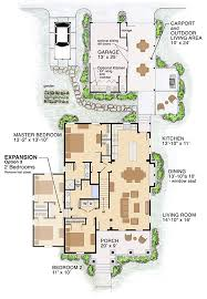 house plan 30504 craftsman style with