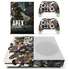 Amazon Com Apex Legends Xbox One S Skin Vinyl Skin Decal Sticker Cover Protective For Xbox One S Console And 2 Xbox Controller By Mr Wonderful Skin Video Games