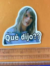 Taylor Swift Vinyl Decal Wall Decal Phone Sticker Que Dijo Folklore Reputation Ebay