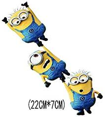 Topthaishop 2x Minion Breaking Through Decal Sticker Car Truck Bumper Laptop Love Hug Stick Despicable Me