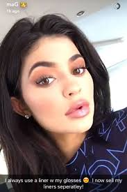 kylie jenner makeup routine snapchat