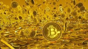 Free Images : bitcoin, Bitcoins, crypto, money, gold, goldrain, currency,  yellow, treasure, metal, computer wallpaper 1920x1080 - Mathis Lesieur -  1457461 - Free stock photos - PxHere