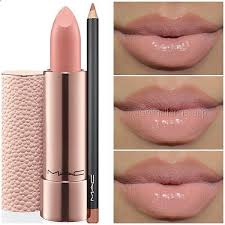 makeup mac lipstick peachstone and
