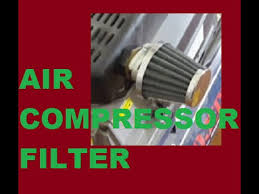 air compressor filter replacement or