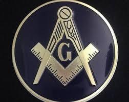 Masonic Car Decal Etsy