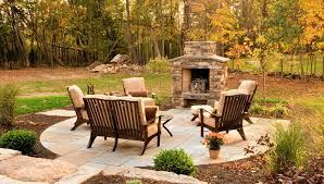 24 outdoor fireplace designs ideas