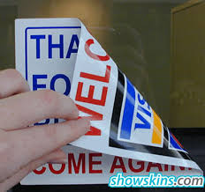 China Custom Window Decals Double Sided Material Visa For Car Windows Vinyl Static Cling Stickers Car Decals China Custom Window Decals Car Window Stickers