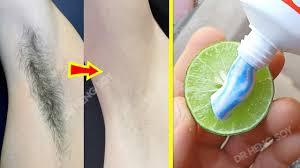 in 3 week remove unwanted armpit hair