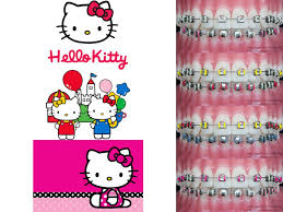 Today we are featuring #HelloKitty #ハローキティ #kittywhite #キティホワイト #braces  #orthodontics #orthodontist #歯科矯正医 #歯列矯正 #… (With images) | Braces colors,  Braces teeth colors, Brace face