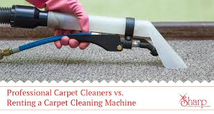 ing a carpet cleaning machine